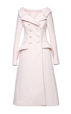 Double Breasted A Line Coat by DICE KAYEK for Preorder on Moda Operandi