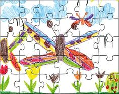 Blanko-Puzzle A5 - SCHUBI