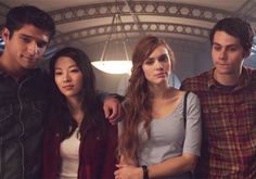 Scott,Kira,Alisson and Stiles