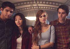 Scott,Kira, Lydia and Stiles