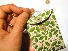 Mini envelopes: for gift cards, mini post it