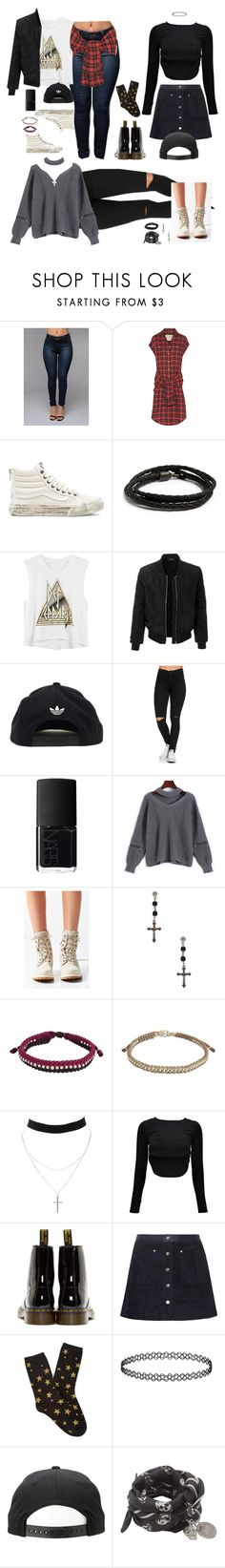 """""""Jane/REXH O.K MV Outfits"""" by rexhogaccount ❤ liked on Polyvore featuring R13, Vans, MIANSAI, LE3NO, adidas, NARS Cosmetics, Timberland, Givenchy, NOVICA and Charlotte Russe"""