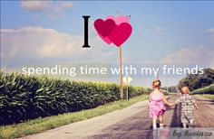 i heart spending time with my #friends