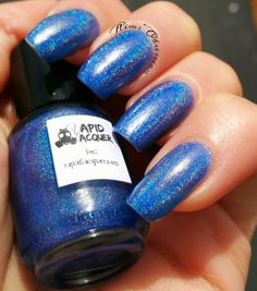 Vapid Lacquer - You Really Blue It