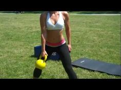 8 minute Total Body Kettlebell Routine - YouTube