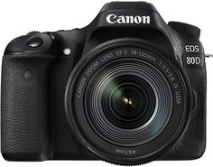 Shop Canon EOS DSLR Camera with IS USM Lens Black at Best Buy. Find low everyday prices and buy online for delivery or in-store pick-up. Canon Eos, Camera With Flip Screen, Canon Kamera, Dslr Aperture, Dslr Photography Tips, Dream Photography, Photography Equipment, Camera Cover, Smartphone