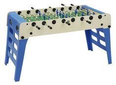 DescriptionFeaturesSpecsReturnsFAMILY FUNThe Garlando Open-air Outdoor Foosball Table lets you bring the fast action of foosball anywhere. This weatherproof professional foosball table has folding legs so you can easily move it or.