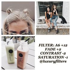 """167 Likes, 3 Comments - filters // HIATUS 4EVER (@luxuryfilters) on Instagram: """" ⚪ app : vsco cam ▫ ⚪ dark ; pale ; pinkish ⚪good for pastel pics"""""""