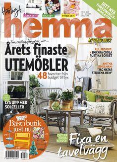 Veckans nummer av Härligt hemma! Nr 16/2013 Nu med ännu mer inredning ocn ny sajt.