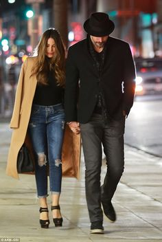 Power couple! Sofia Vergara and Joe Manganiello looked every inch the Hollywood couple as they headed for a date night on Friday