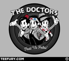 Trust Us Folks by zerobriant - Shirt sold at http://teefury.com on January 27th - For more art by zerobriant, visit http://www.zerobriant.com