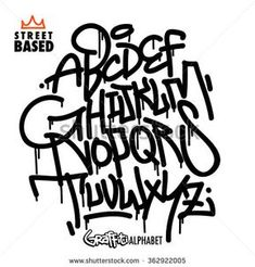 Find Handlettering Graffiti Alphabet stock images in HD and millions of other royalty-free stock photos, illustrations and vectors in the Shutterstock collection. Graffiti Alphabet Styles, Graffiti Lettering Alphabet, Tattoo Lettering Fonts, Graffiti Designs, Graffiti Styles, Lettering Styles, Hand Lettering, Font Tattoo, Graffiti Artists