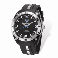 US Air Force Wrist Armor Dial/ Strap Alloy Accent Watch