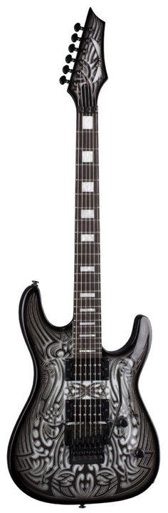 Tribal Graphyte Guitar