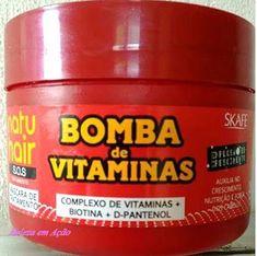 BELEZA EM AÇÃO: Hidratação Bomba de Vitaminas para Crescimento cap...