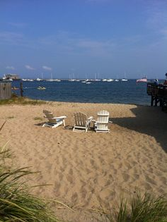 Great view of #Provincetown Harbor and Fishermen's Wharf.