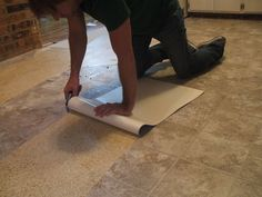 How to remove vinyl flooring - The order of works
