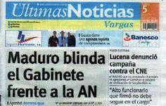 Últimas Noticias Vargas jueves 5 de mayo de  2016