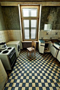 Blue tiles by ZerberuZ.deviantart.com