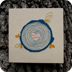 Cozy Blue, known for their screen prints, now offers their family tree design as an embroidery pattern! This would make the perfect gift for any modern family!