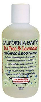 Amazon.com: California Baby Shampoo & Body Wash - Tea Tree & Lavender, 8.5 oz: Health & Personal Care