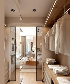 Best Walk in Closet Design Ideas to Inspire You - bedroom inspirations Walk In Closet Design, Bedroom Closet Design, Closet Designs, Home Bedroom, Master Bedroom Plans, Master Room, Master Closet, Dressing Room Design, Dressing Room Closet