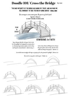 How to draw a bridge