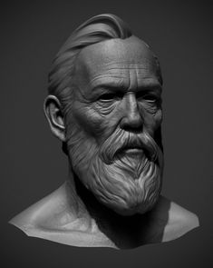 Augustus head high poly I sculpted for (The Order: 1886) software used: Zbrush, Maya, Photoshop