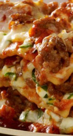 Italian Sausage Lasagna More