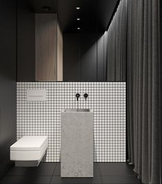 Luxury Master Bathroom Ideas is categorically important for your home. Whether you pick the Small Bathroom Decorating Ideas or Dream Master Bathroom Luxury, you will make the best Luxury Bathroom Master Baths Wet Rooms for your own life. White Bathroom, Modern Bathroom, Small Bathroom, Bathroom Ideas, Shower Ideas, Restroom Design, Bathroom Interior Design, Interior Livingroom, Bad Inspiration