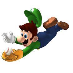 Luigi in Mario Superstar Baseball - Mario and Luigi Photo (9298461 ...