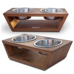 Pet Lounge Bambú Angled Diner Pet Bowls - Dog - Boutique - PetSmart These can be made very easily