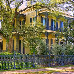 The Garden District | New Orleans Take the guided walking tour and see some glorious architecture.