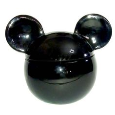 Your WDW Store - Disney Cookie Jar - Mickey Mouse Icon - Black