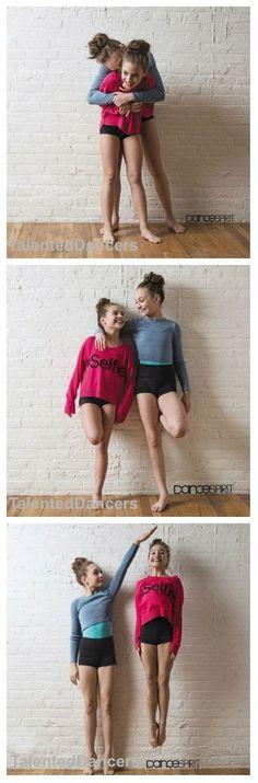 Maddie and Mackenzie Ziegler in Dance Spirit Magazine Dance Moms Comics, Dance Moms Funny, Dance Moms Dancers, Dance Mums, Dance Moms Girls, Girl Dancing, Maddie Ziegler, Mackenzie Ziegler, Abby Lee Miller