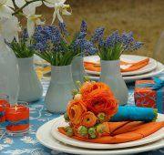 Una novia atrevida escoge el color naranja, el color de la temporada. ¡Con buen gusto te puedes atrever a todo!