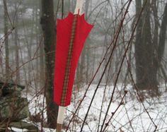 Interesting arrow fletching