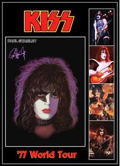 KISS Paul Stanley '77 Love Gun Tour Stand-Up Display