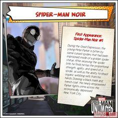 Spider-Man Noir in the Spider-Man Unlimited mobile game. Marvel News, Mcu Marvel, Marvel Fan, Marvel Cinematic, Marvel Comics, Lego Marvel, Marvel Heroes Game, Marvel Video Games, Spider Man Unlimited