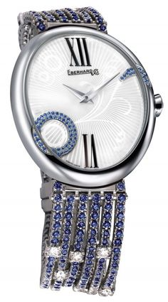 The new Eberhard & Co watch on Chronollection : http://www.chronollection.com/gilda-floral-jewel-watch-n247778.htm #luxurywatches #watches #watchmaking #watch #wiwt #watchporn #orticola