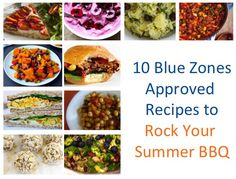 Here are 10 tasty, Blue Zones Approved Recipes you can use for your next summer picnic, grill-out, or potluck!