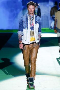 Dsquared2 Spring 2016 Menswear Collection Photos - Vogue