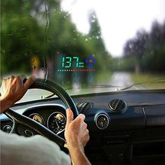 Heads Up Projector Display #cargadgets #projector