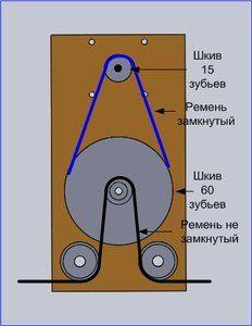 шкивы, ремни для чпу фрезера на ременной передачи редуктор с ремнем.jpg (37.27 Кб) Просмотров: 9226
