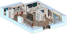 USS Saratoga - Chemistry Lab by bobye2.deviantart.com on @DeviantArt