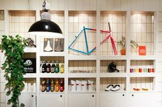 From Pristine came Meesterknecht, a new cycle shop in Amsterdam. I love seeing brands progress like this and one day I'd love to make it out to see their space. For now, these photos will have to do....