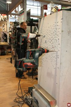 Batimat 2013 - Stand #Metabo - #perforateurs- www.zone-outillage.fr