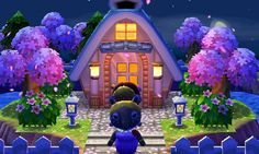 "Animal Crossing: Happy Home Designer- Luna- ""A ""dream"" home!""  Visit in game: 0303-7769-015   #AnimalCrossing #ACHappyHomeDesigner #ACHHD"