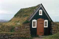 Earth-covered house