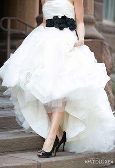 """WedLuxe: Vera Wang """"Ethel"""" gown"""
